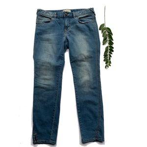 FREE PEOPLE Sz 30 Skinny Ankle Jeans Medium Wash